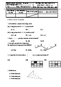 Đề kiểm tra giữa học kì II các môn Toán Lớp 2