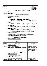 Giáo án Tổng hợp các môn Lớp 1 - Tuần 1 - Năm