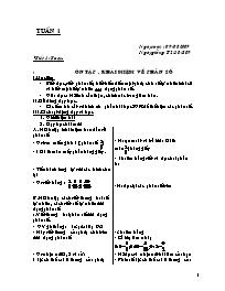Giáo án Tổng hợp các môn Lớp 5 - Tuần 1 - Năm
