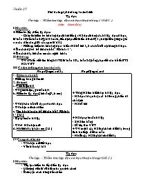 Giáo án môn Tiếng Việt Lớp 2 - Học kì 2, Tuần
