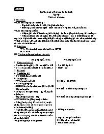 Giáo án môn Tiếng Việt Lớp 2 - Tuần 31