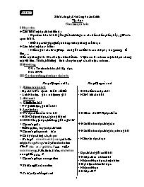 Giáo án môn Tiếng Việt Lớp 2 - Tuần 32