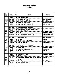 Giáo án Tổng hợp các môn Lớp 2 - Tuần 6 - Năm